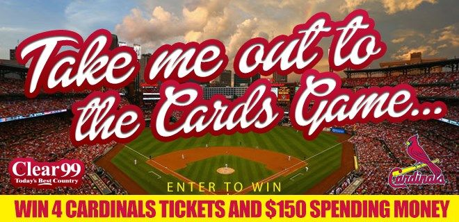 Enter our sweepstakes for your chance to win 4 Cardinals tickets + $150 spending money!