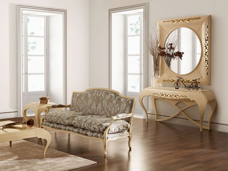 New York console, mirror and settee  Jetclass | Real Furniture Luxury Interior Design