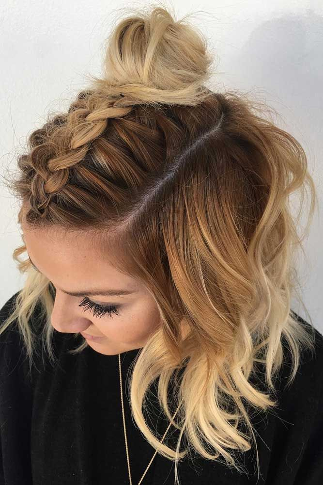 Short Hairstyles For A Christmas Party Lovehairstyles Com Medium Length Hair Styles Short Hair Styles Medium Hair Styles