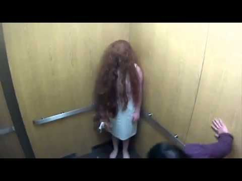 Extremely Scary Ghost Elevator Prank in Brazil - YouTube