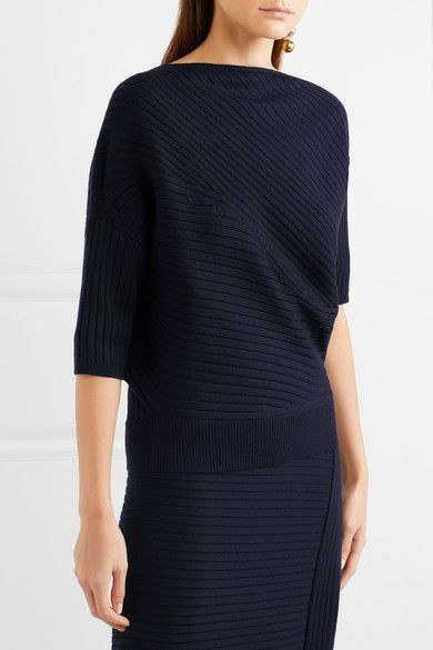 J.W.Anderson | Infinity ribbed merino wool sweater | NET-A-PORTER.COM