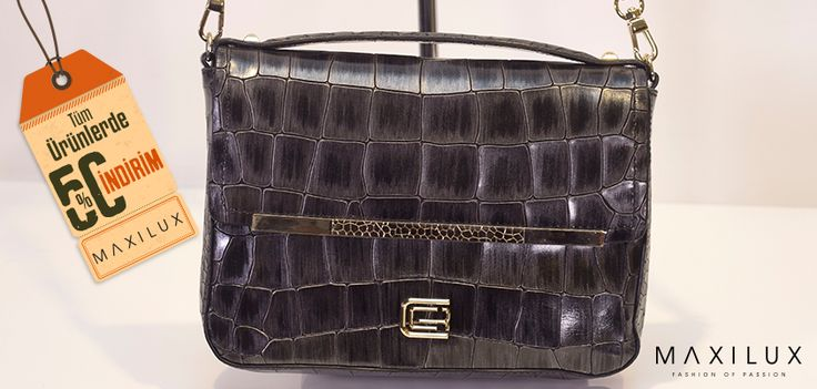 Haftaya bu güzel çantaya sahip olmakla başlayabilirsiniz :) #Maxilux #Moda #Marka #Çanta #Fashion #Brand #Bag