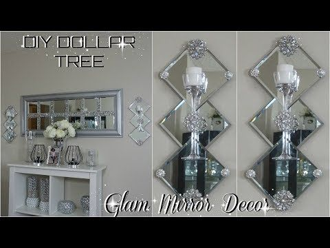 Dollar Tree DIY Mirror Decor | DIY Easy & Inexpensive Glam Home Decor Ideas 2018 #DollarTree #HomeDecor Hey guys!!! today I will be sharing with you guys how…