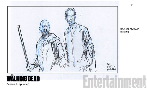 'The Walking Dead': 15 Exclusive Storyboard Illustrations From Season 6 | | EW.com