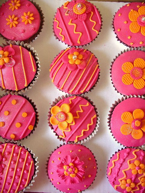Fiesta cupcakes, via Flickr.
