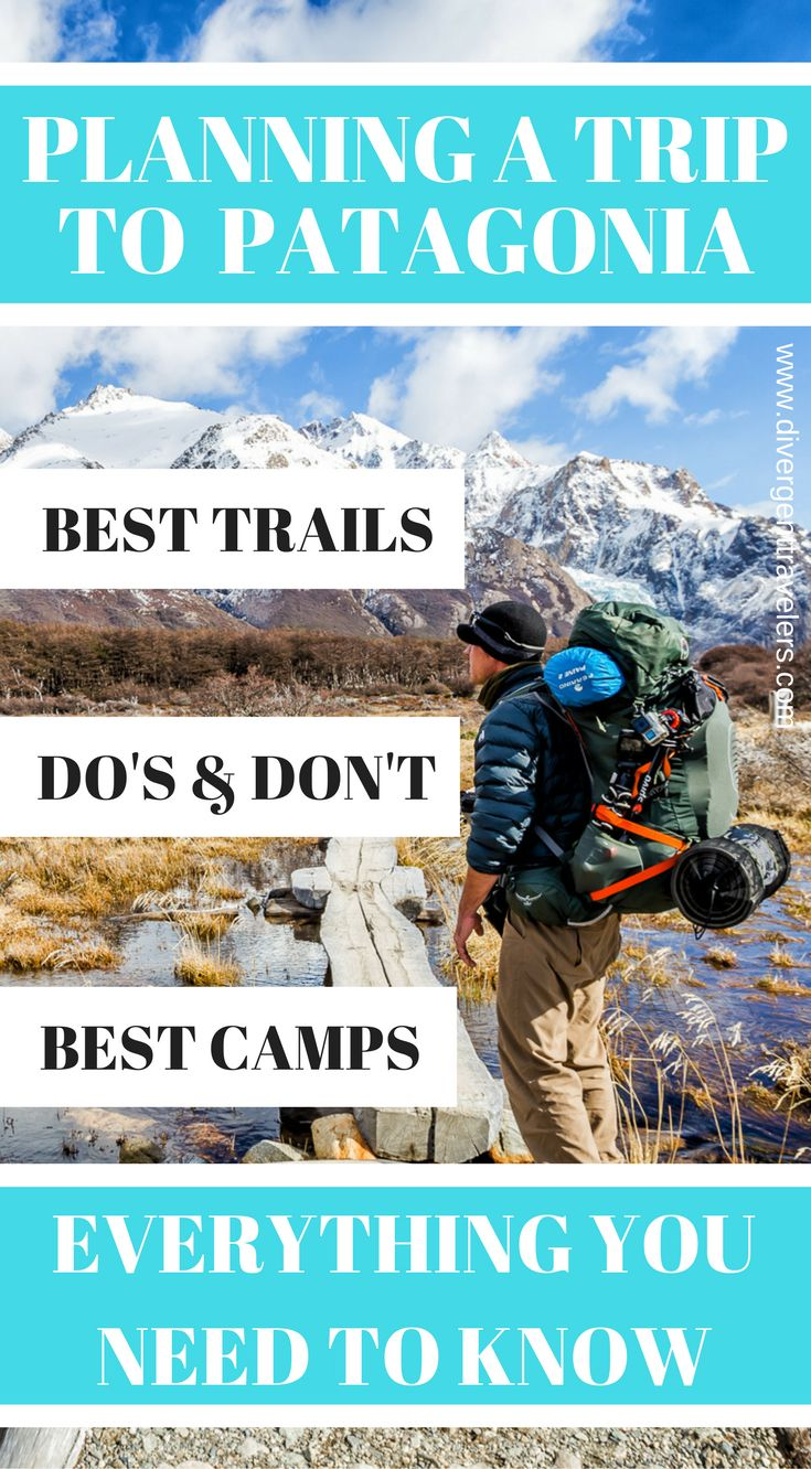 Planning a trip to Patagonia? We have put together everything you need to know from best trails, Do's & don'ts and best camps. Selecting the route that meets our criteria wasn't an easy task but from the first time we saw 7 day dual basecamp trek to Fitz Roy and Cerro Torre that we'd made the right decision to name it as a Top 100 Travel Adventure. Click to read more. #Patagonia #Adventure #hiking #Guide #Travel