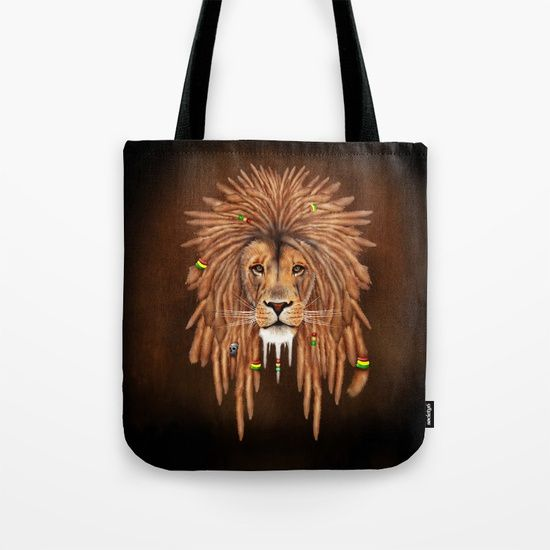 Rasta Lion Dreadlock TOTE BAG @pointsalestore #society6 #totebag #bag #painting #digital #oil #popart #streetart #rasta #dreadlock #marley #bob #lion #lionking #simba #kingofthejungle #tarzan #music #raggae #africa #junglebook #beast #animal #cat #bigcat