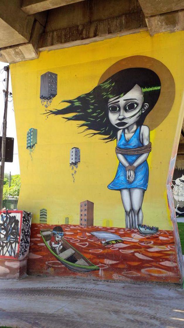 Grafite de Tinho — em Santana – São Paulo – SP – Brasil