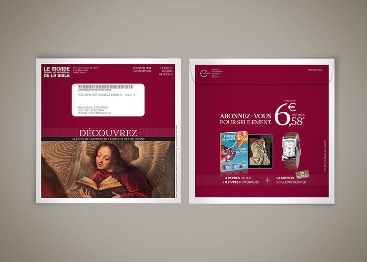 Ynfluence - Création marketing direct pour le Monde de la Bible
