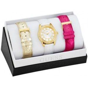 Ik vond dit op Beslist.nl: Guess horloge W0351L2}