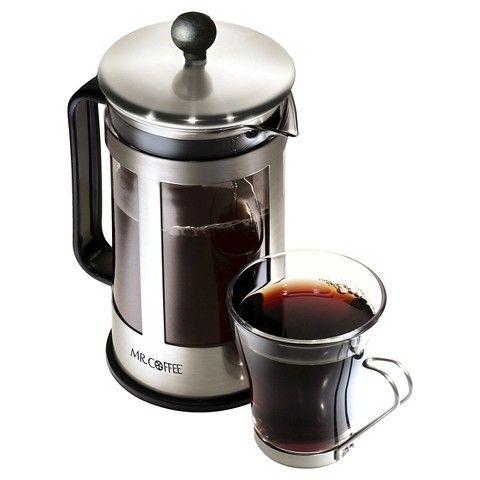 MR. COFFEE French Press 3-pc. Gift Set