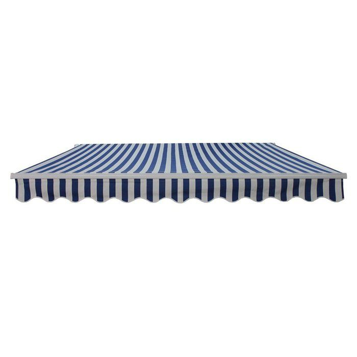 16 Ft W X 10 Ft D Plastic Retraction Slope Standard Patio Awning Retractable Awning Patio Awning Awning