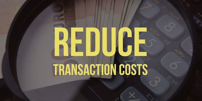 Reduce Transaction Costs in Your Small Business