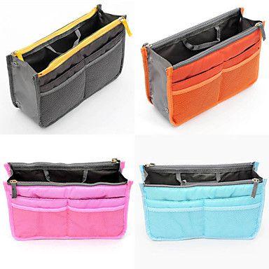 dammode tillfällig multifunktionell mesh kosmetiska makeup väska lagring hänger arrangör (5 färgar väljer) – SEK Kr. 47