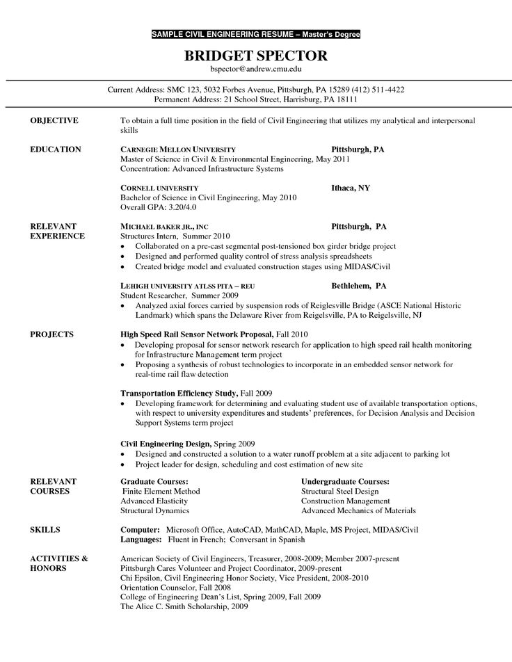The 25+ best Latest resume format ideas on Pinterest Resume - environmental engineer resume