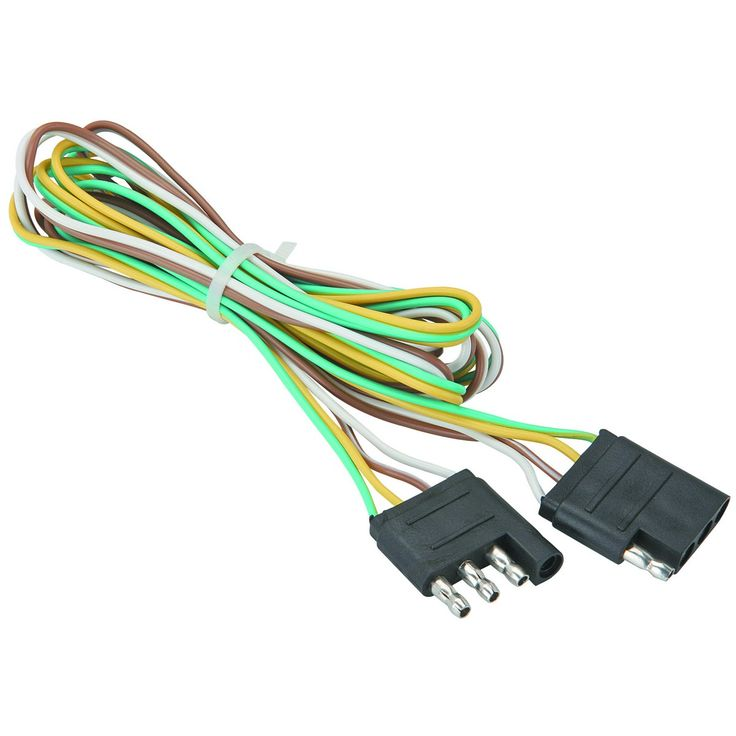be8071b3273473da485a3850f3ab89b7 trailers wire 104 best trailers & accessories images on pinterest trailers trailer lights wiring harness kit at readyjetset.co