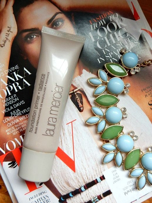 Beauty: Laura Mercier Radiance Primer Review - www.dreaminlace.com