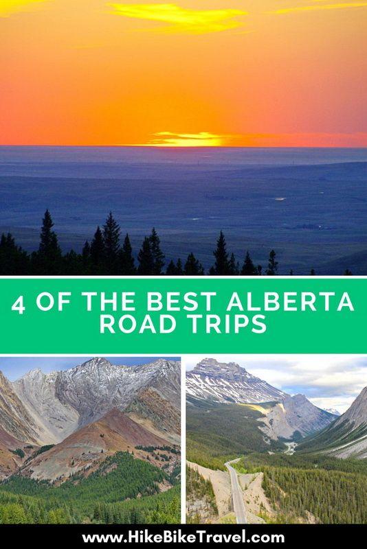 4 of the best Alberta road trips