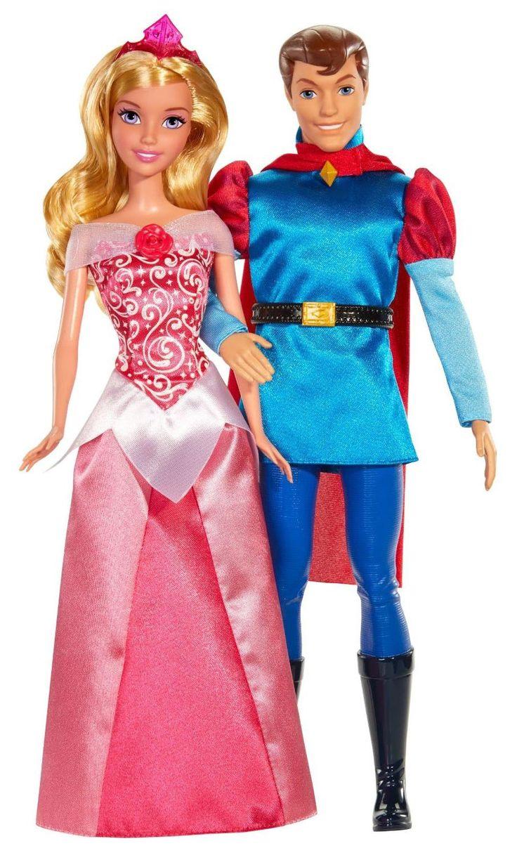 Mattel Mattel, Disney Princess, Куклы Спящая красавица и принц Филипп