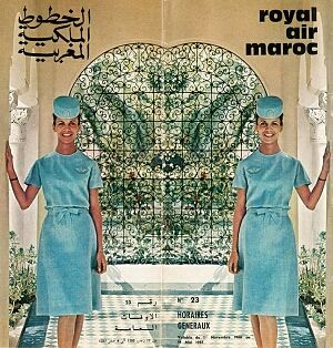 Royal Air Maroc 1966 - Maroc Désert Expérience tours http://www.marocdesertexperience.com