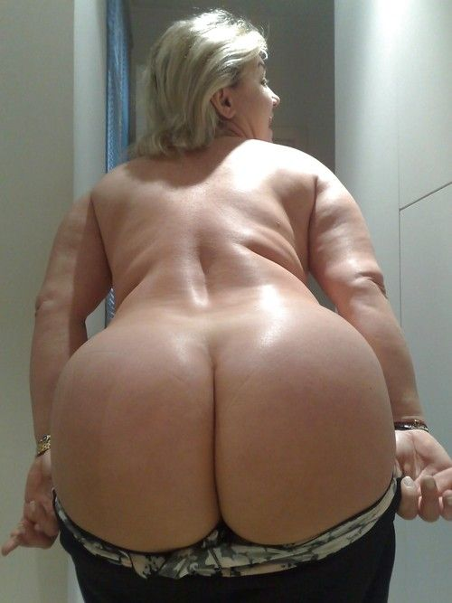 Blonde milf big hips wife got