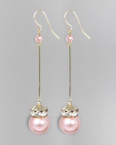 Pearl Wand Earrings
