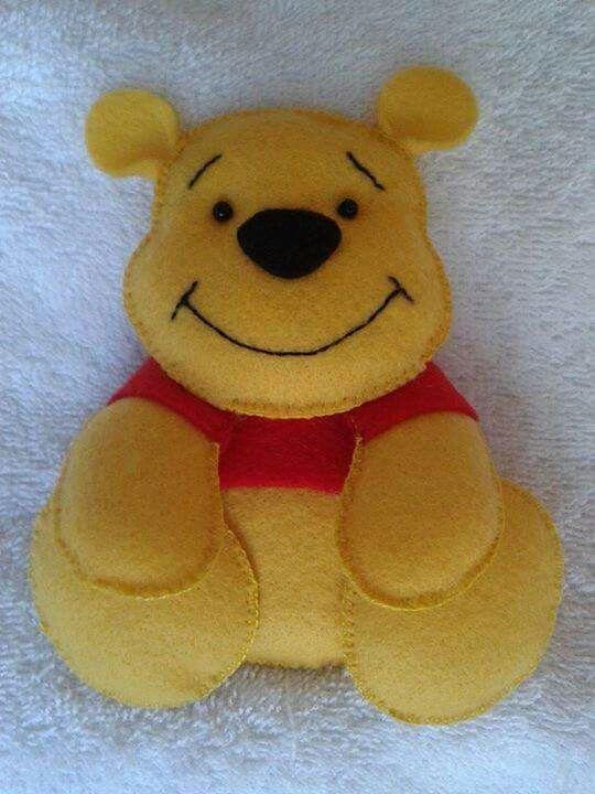 Arte do feltro - Ursinho Pooh