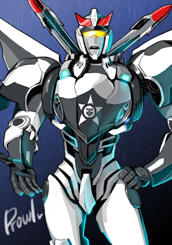 I truely feel like they should have added Prowl in Transformers:prime...that would have made it possibly better. But the show is still badass even without him (^-^)