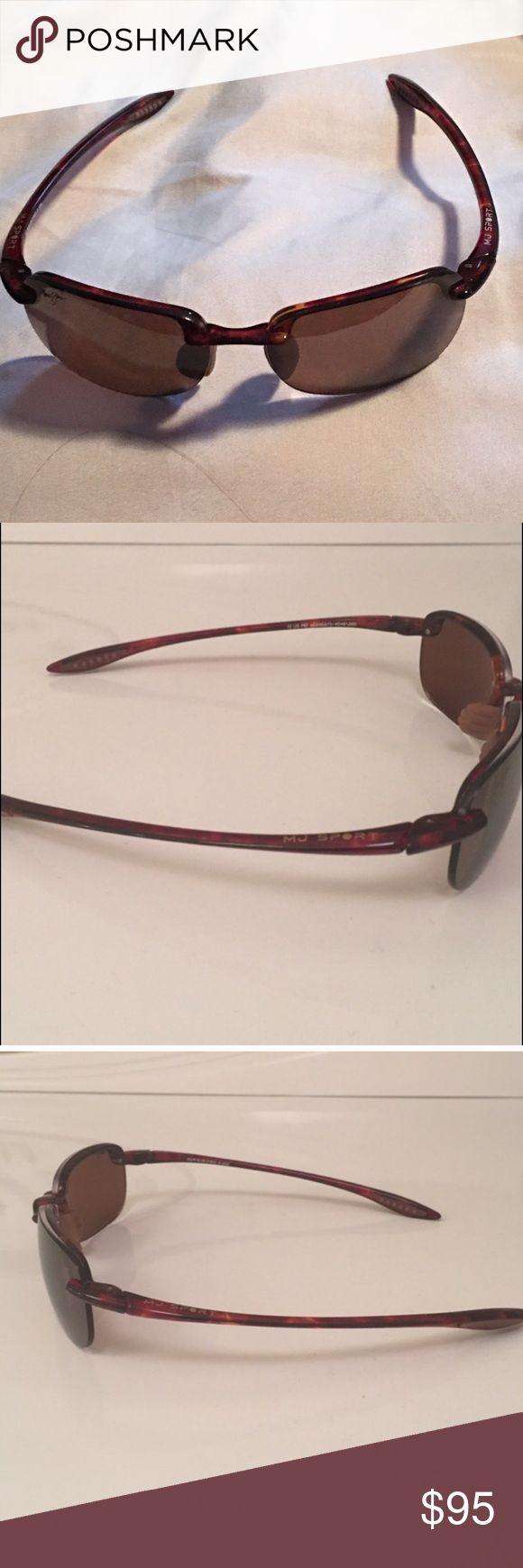 Maui Jim Maui Jim Sport Sunglasses. Tortoise shell frame Maui Jim Accessories Sunglasses