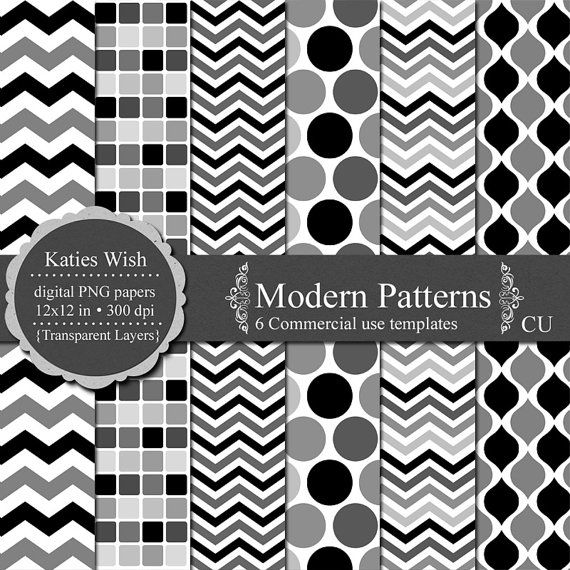 Modern patterns overlay digital kit commercial by for Pattern overlay