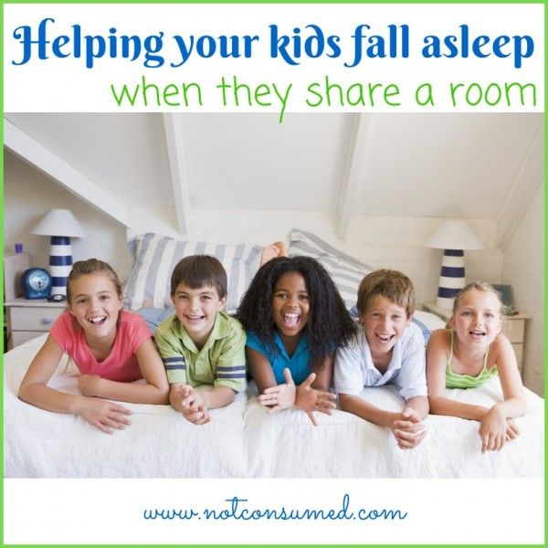 How to get your kids to fall asleep when they share a room. {Minus WWIII} Tips from the trenches.