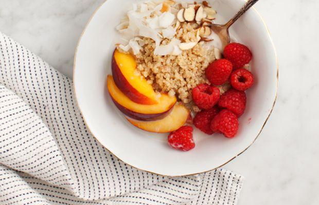 Cinnamon Quinoa Breakfast Bowl Recipe
