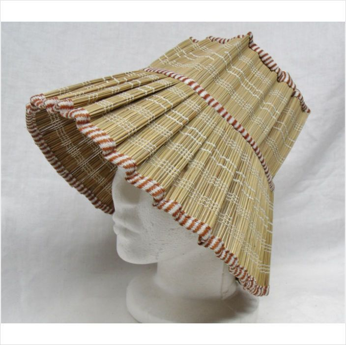 unusual straw Lampshade Hat sun hat summer on eBid United ...