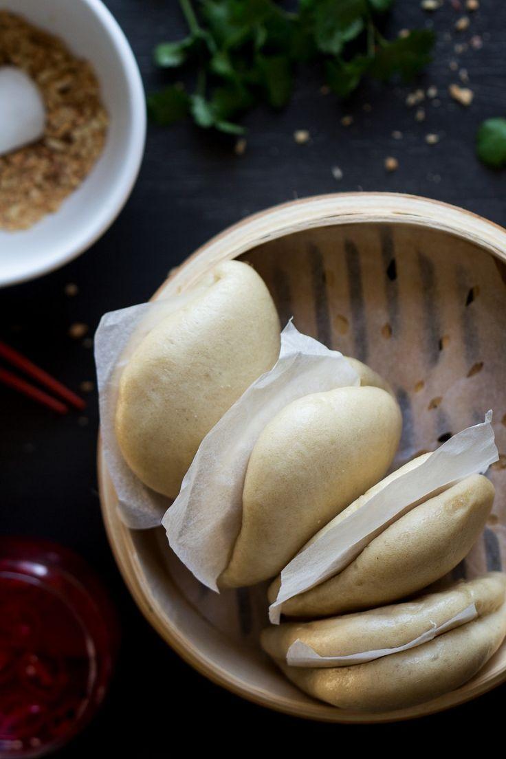 vegan bao buns steamed buns