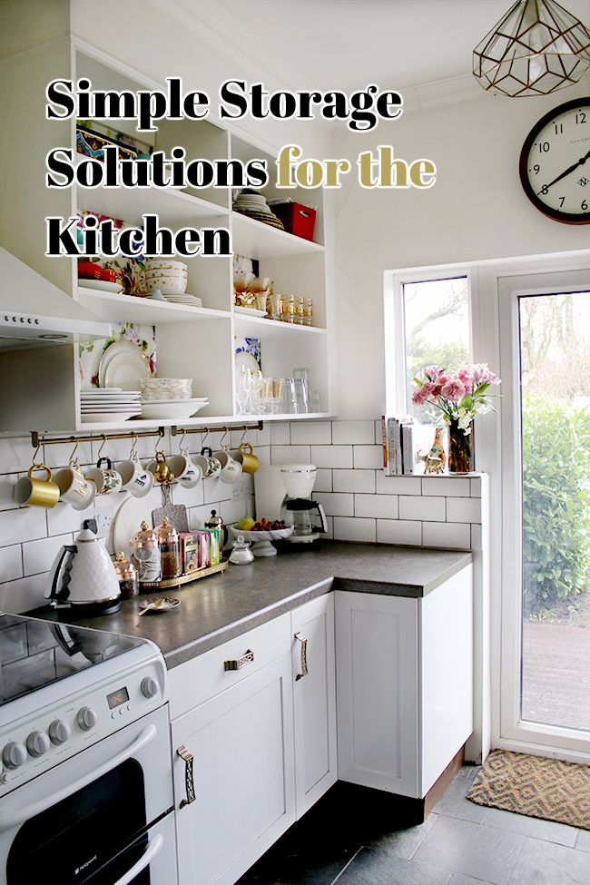Simple Storage Solutions for the Kitchen When it comes to the kitchen, you can never have enough storage. Of course, you can always rip the entire thing out and start from scratch to incorporate lots of new and wonderful built-in features that...