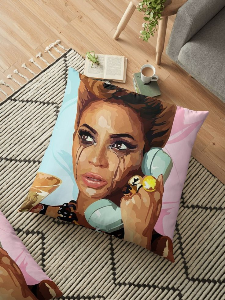 Crying Beyonce pillows, posters, phone cases and more! Shop NOW