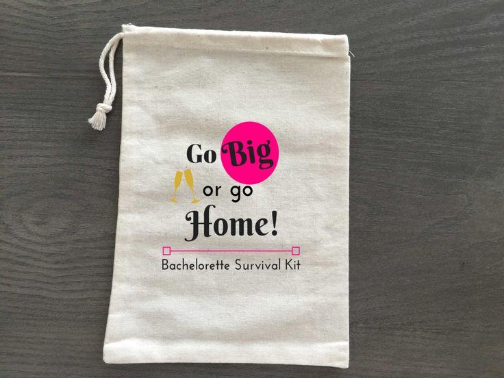10 Bachelorette Hangover Kit, Survival Kit, Recovery Kit, Emergency Kit Favor Bags, Custom by AlfandNoop on Etsy