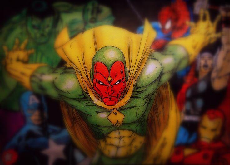 Avengers (Originally Red Tornado but...)
