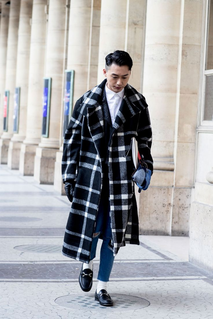 Paris Mens Fashion Week Street Style Day 2 Fall 2017