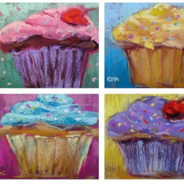 Cupcake Art Lesson : Cupcake Art 4th Grade Art Lessons Pinterest Cupcake ...
