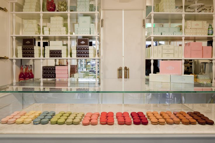 La Belle Miette. Yum to the champagne flavoured macarons.