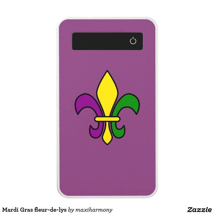 Mardi Gras fleur-de-lys Power Bank