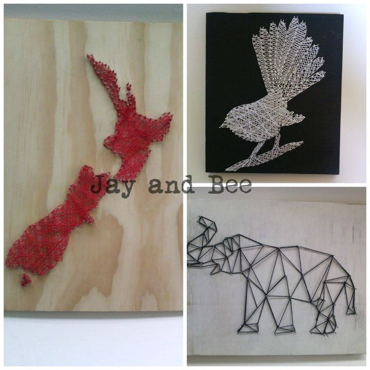 Jay and Bee Jay and Bee is all about making unique and affordable art work for your home. No two pieces are the same and every piece of string art can be changed and custom made to suit your tastes. Each piece of string art is made from recycled wood locally sourced. www.facebook.com/jayandbee1  Instagram: @jayand.bee email : jayandbee1@yahoo.com