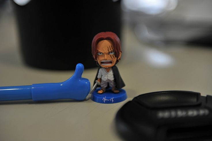 #One Piece #海賊王 四皇 紅髮傑克公仔