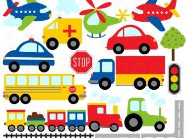 Free+cliparttrains | Clipart - Trains Planes Cars and Trucks | Meylah