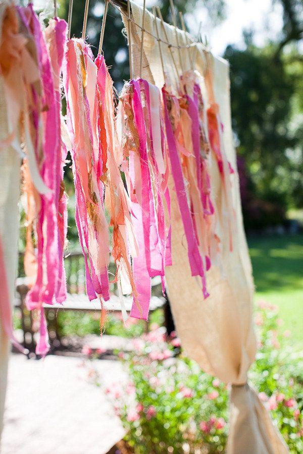.Ceremonies, Add Colors, Wedding Backdrops, Jesihaackdesign Com, Fabrics Strips, Parties Ideas, Events Plans Design, Event Planning Design, Design Flower