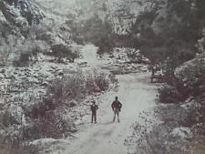 Meiringspoort near #oudtshoorn and #safariostrichshowfarm in 1870 - road between the #kleinkaroo and the Great Karoo