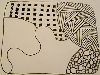A zen doodle tutorial zentangles pinterest for Doodle tutorial