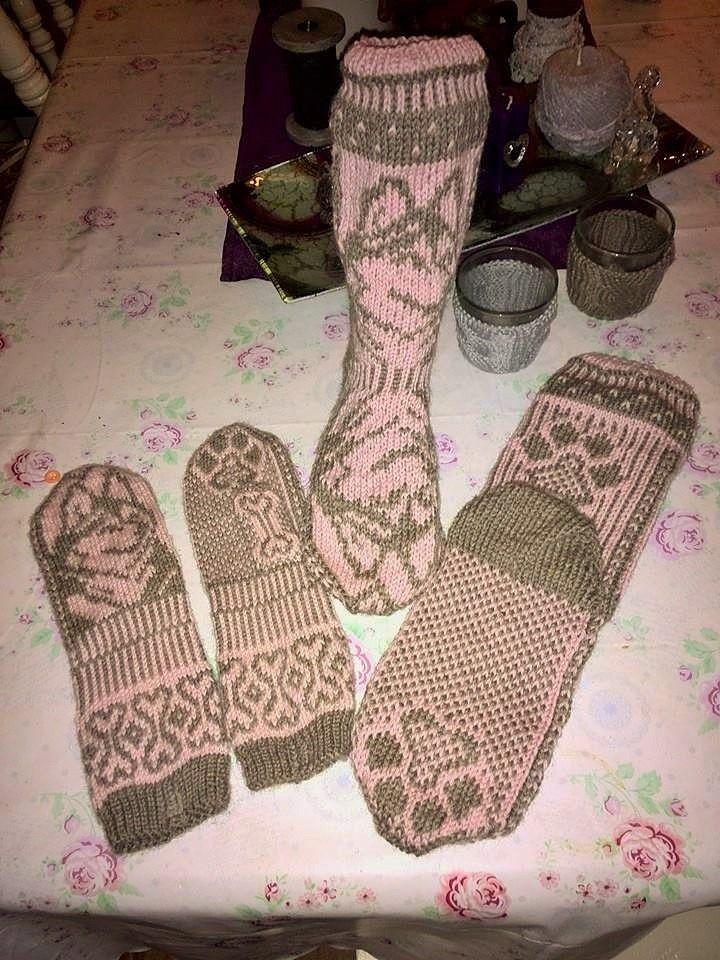 Husky votter og sokker