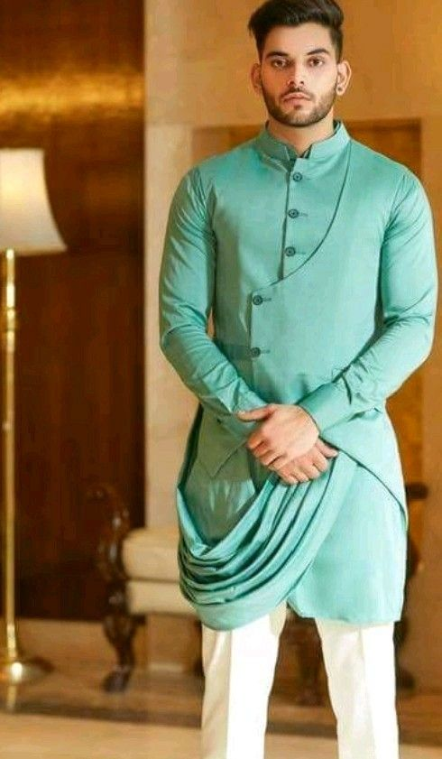 Turquoise Wedding Dress for Men